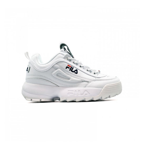 Fila	Disruptor 2 </br> White Navy Red 1