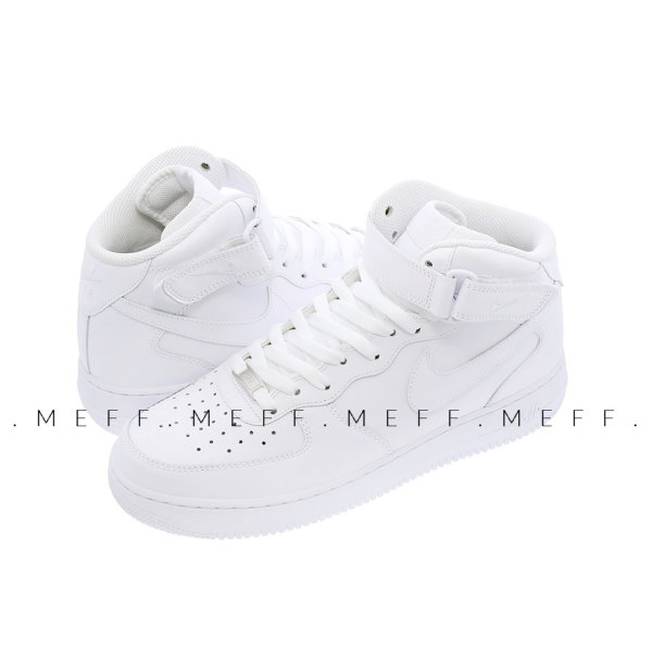 Nike Air Force 1 Mid '07 </br> White 3