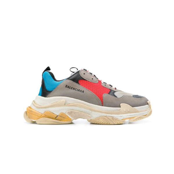 Balenciaga Triple S </br> Grey Blue 1