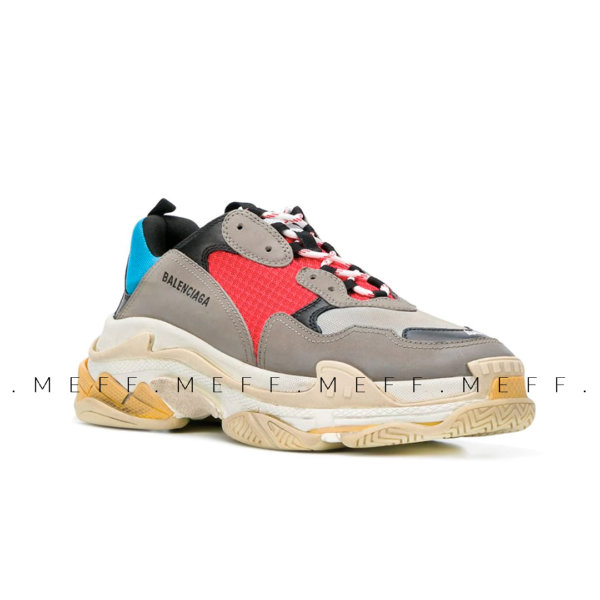 Balenciaga Triple S </br> Grey Blue 2