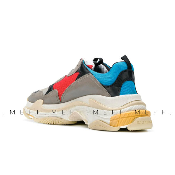 Balenciaga Triple S </br> Grey Blue 3